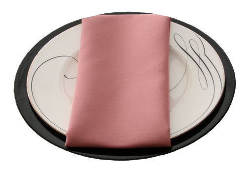 Mauve Napkins Mauve Polyester Napkin Rentals