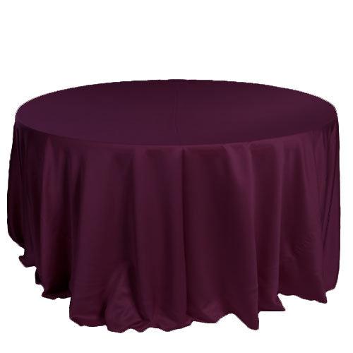 Burgundy Lamour Matte Satin Tablecloth Rentals Burgundy Lamour Matte Satin Tablecloth Rentals