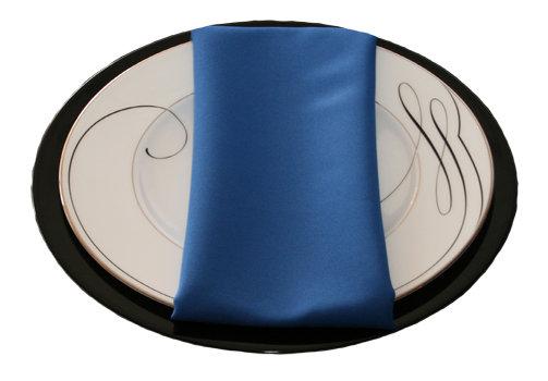 Royal Blue Napkins Royal Polyester Napkin Rental