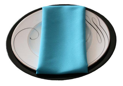 Turquoise Napkins Turquoise Polyester Napkin Rental