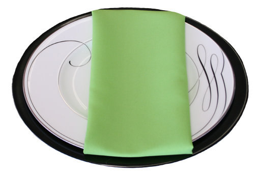 Lime Green Napkins Lime Polyester Napkin Rental