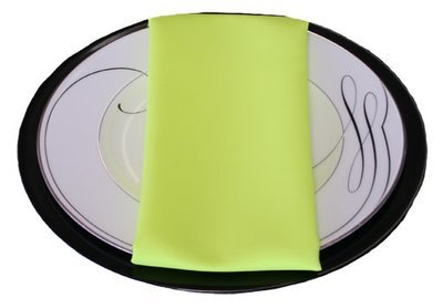 Neon Yellow Napkins