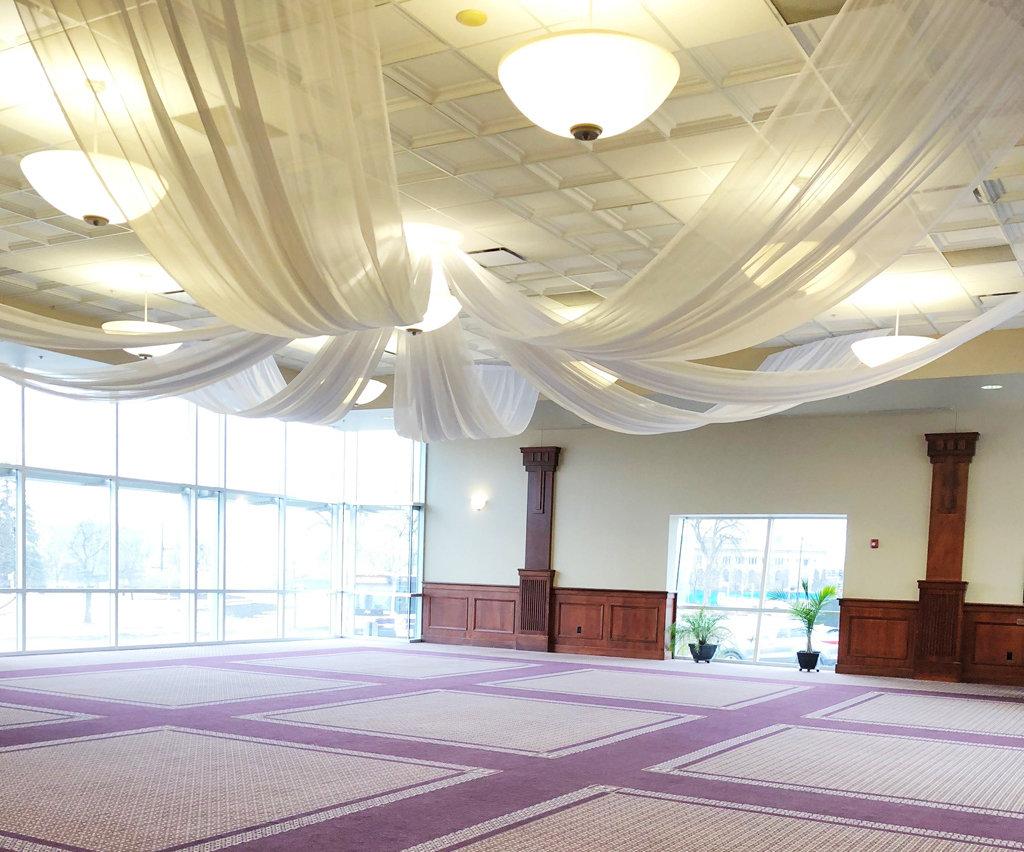 Des Moines Forte Conference Center - Hoop Design Ceiling Draping Des Moines Forte Conference Center - Hoop Design Ceiling Draping