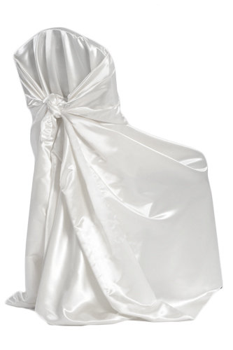 Universal Chair Covers Universal Satin - Bag Self-Tie