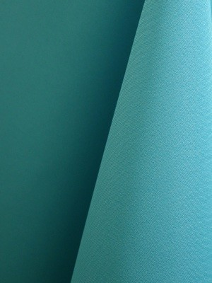 Turquoise Solid Polyester Table Skirting Rental