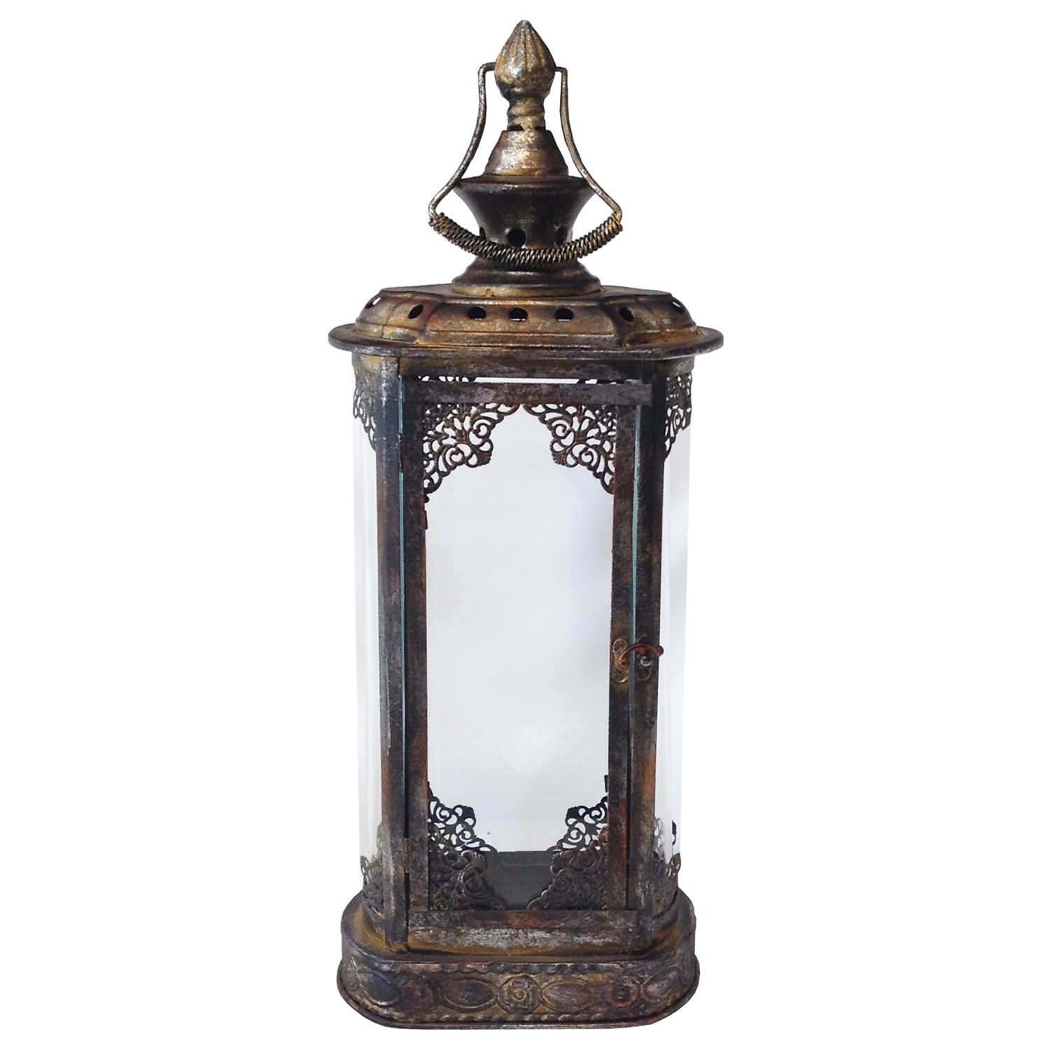 Bronze Metal Lantern Rental
