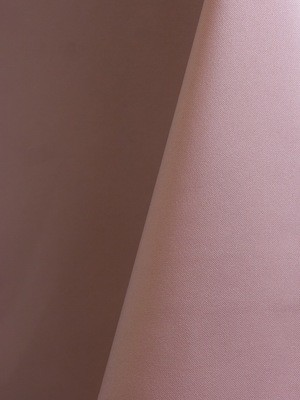 Blush Solid Polyester
