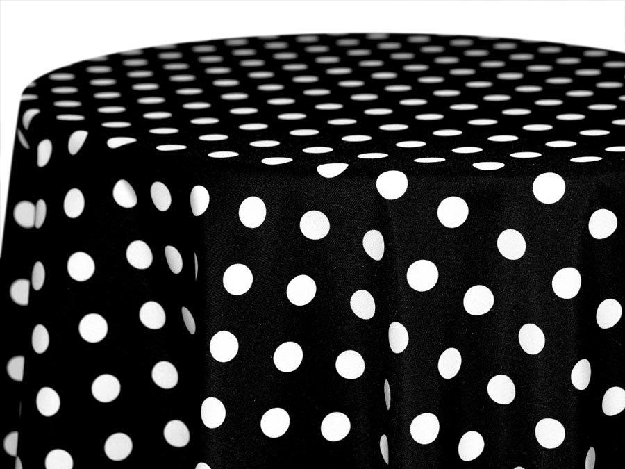 Polka Dot Tablecloths POLKA DOT TABLECLOTHS