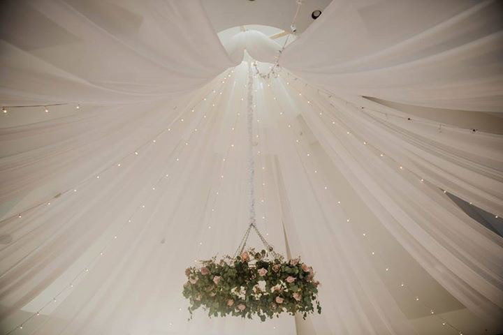 Starburst Ceiling Draping Starburst Ceiling Draping
