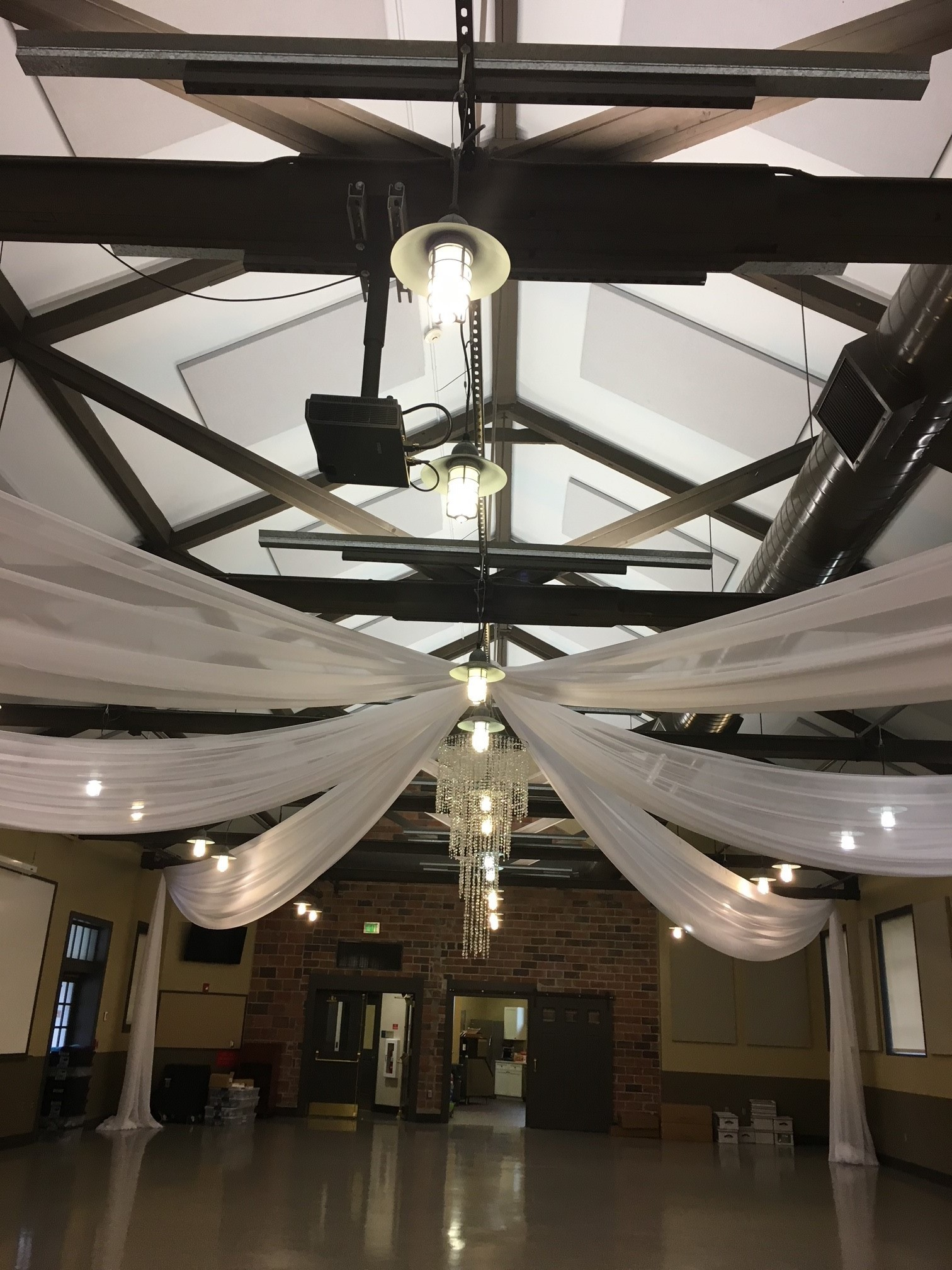 Star Shape Ceiling Draping Star Shape Ceiling Draping
