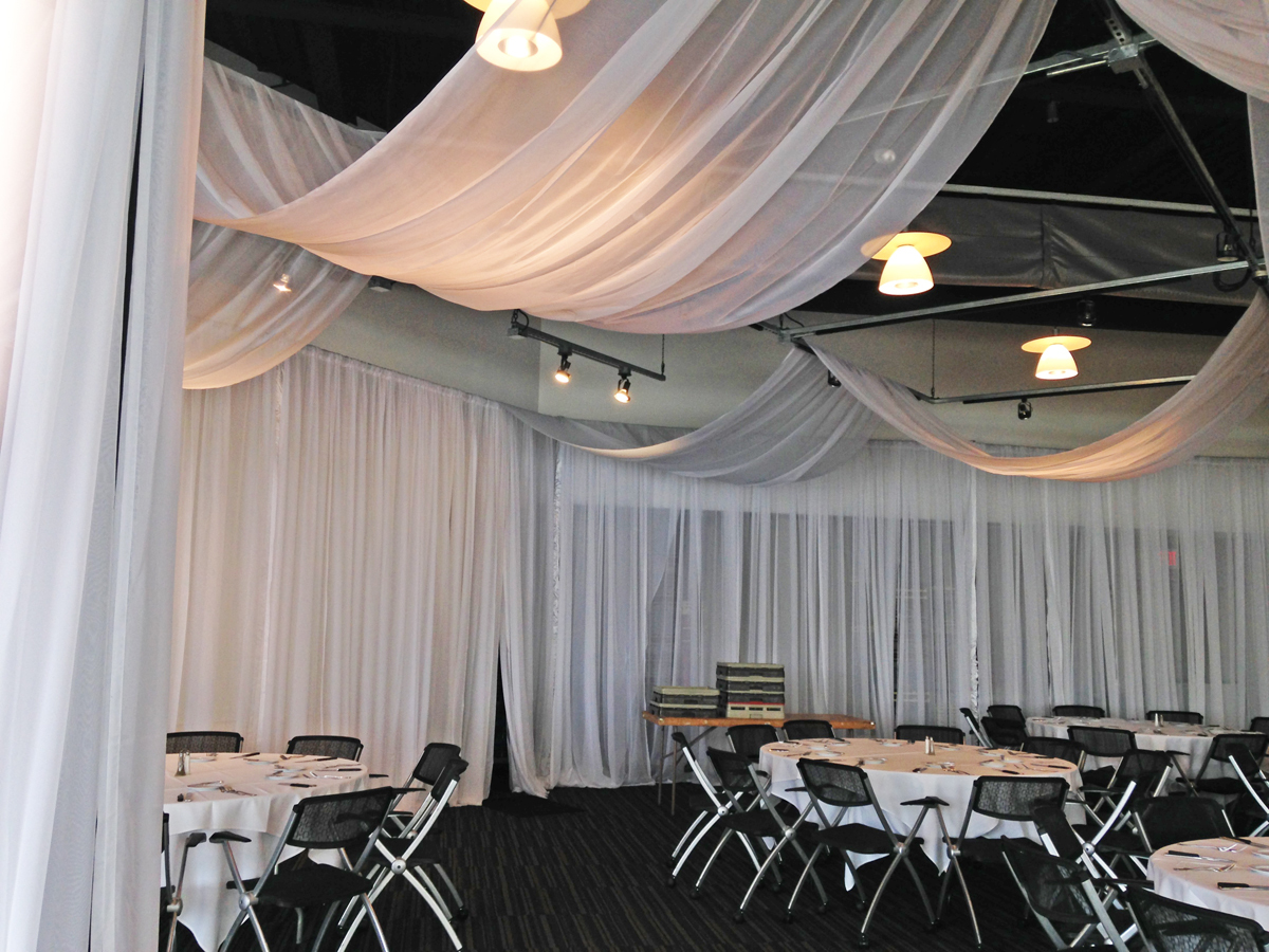 Embassy Club West - Des Moines - Ceiling Draping