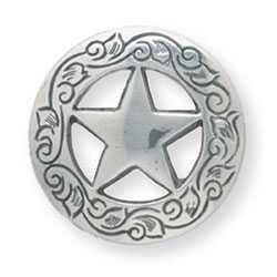 "Texas Star Concho 1 1/4"""