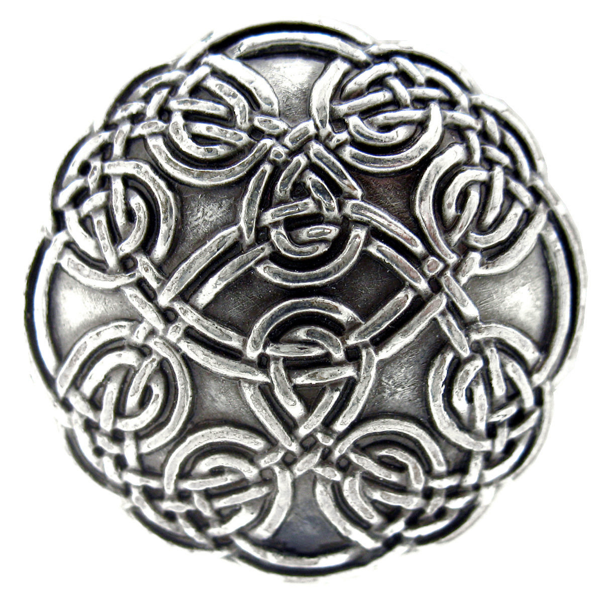 Antique Silver Celtic Concho