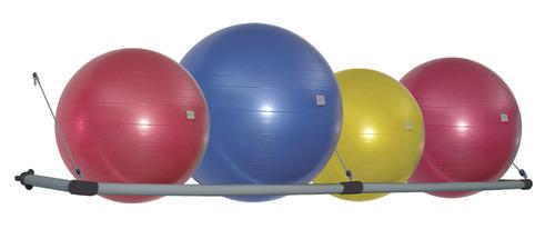 Stability Ball Wall Storage Rack
