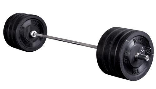 York Solid Rubber Adjustable Training Set (160KG)