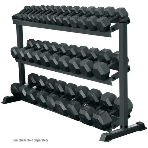 York 3-Tier Pro-Hex Dumbbell Rack
