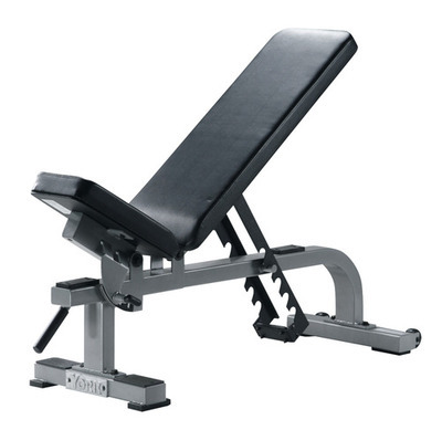 York Flat-to-incline Bench (Silver)