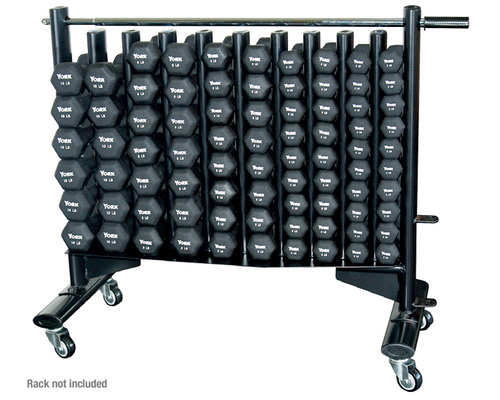 York Neo-Hex Club Pack (Includes Dumbbells and Rack)