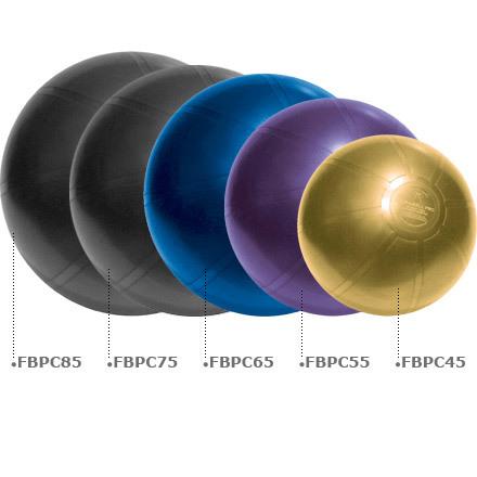DuraBall PRO Exercise Ball Silver 75 cm