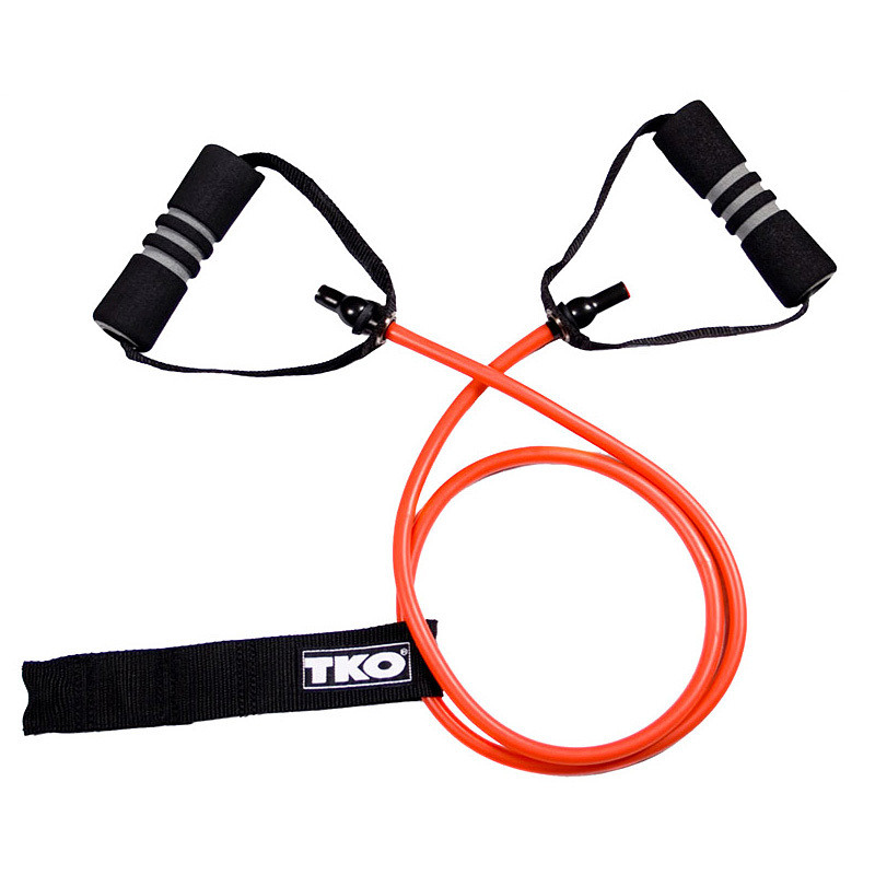 TKO Resistance Band/Cord w/ Form Handles and Door Attachment