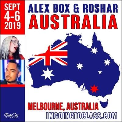 ALEX BOX & ROSHAR IN MELBOURNE - PAID IN FULL