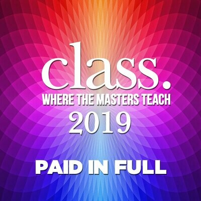CLASS 2019 PAID IN FULL