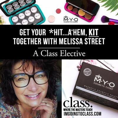Melissa Street and MYO Cosmetic Cases