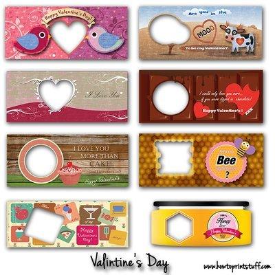 Valentine's day mug templates