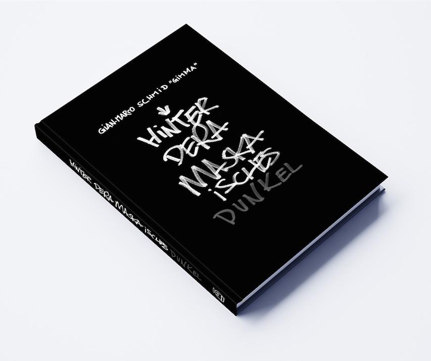 Buch «Hinter dera Maska isches dunkel»