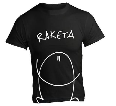 T-Shirt «Raketa» Schwarz