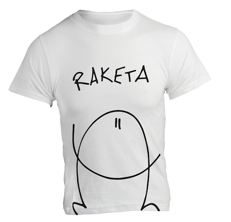 T-Shirt «Raketa» Weiss