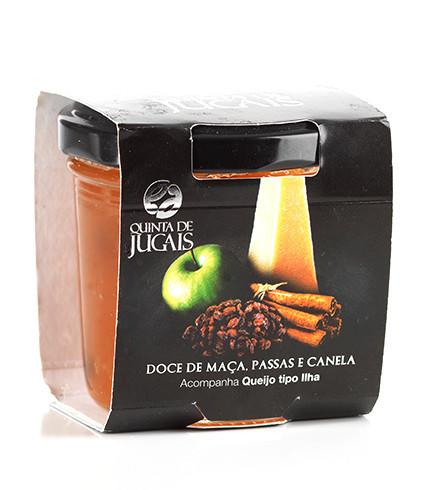 Apple Cinnamon Raisin Jam / Doce 125gr (Quinta Jugais)