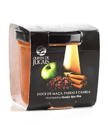 Apple Cinnamon Raisin Jam / Doce 125gr (Quinta Jugais)
