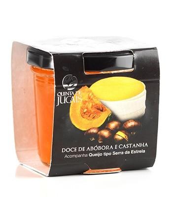 Pumpkin & Chestnut Jam / Doce 125gr (Quinta Jugais)