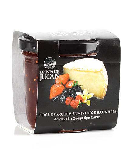 Wild Fruit & Vanilla Jam / Doce 125gr (Quinta Jugais)