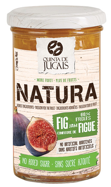 Fig / Doce 300 gr (Quinta Jugais) - Natura - No Sugar Added