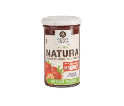 Strawberry / Doce 300 gr (Quinta Jugais) - Natura - No Sugar Added