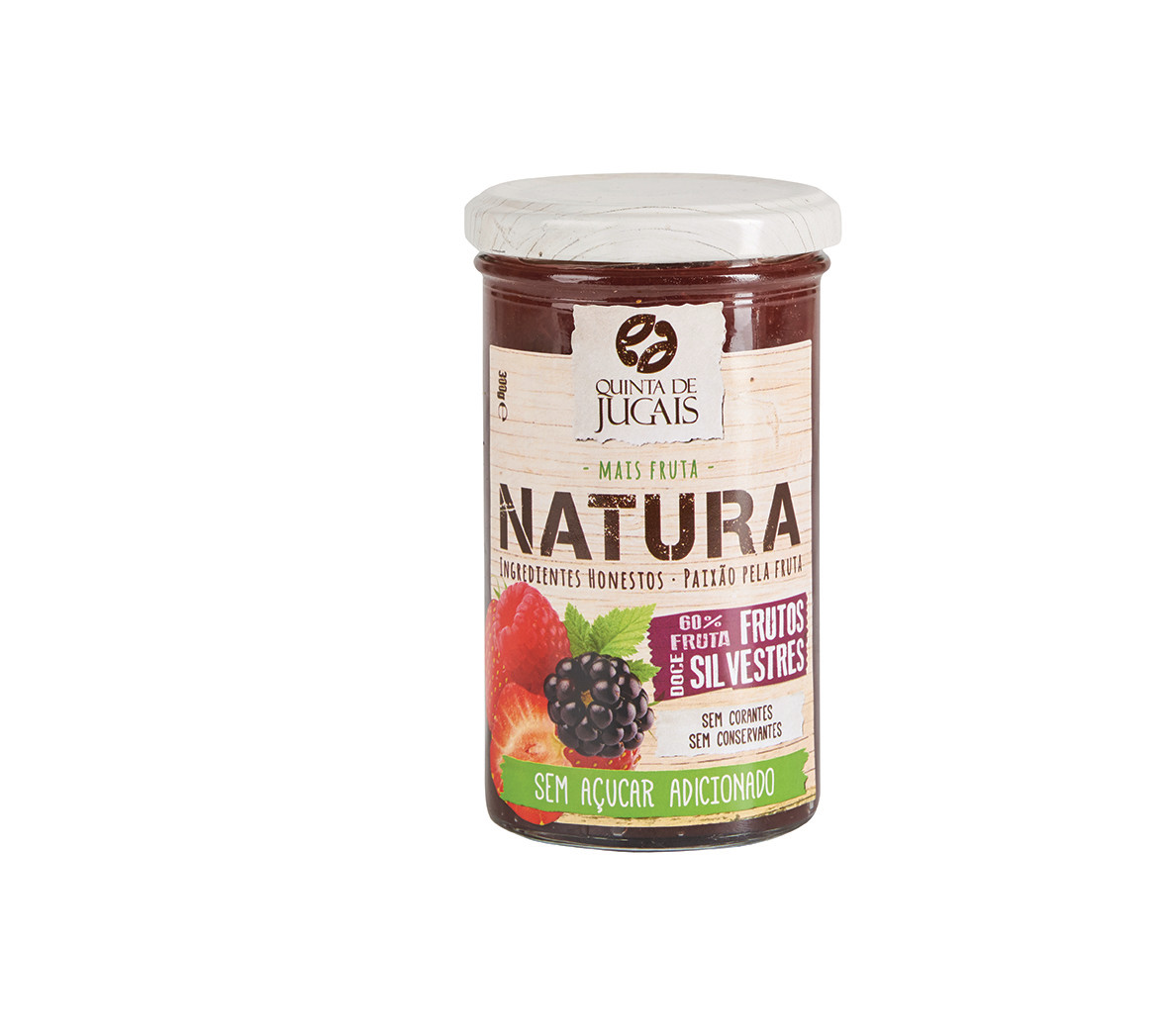Wild Berries / Doce 300 gr (Quinta Jugais) - Natura - No Sugar Added