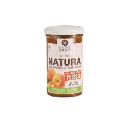 Peach / Doce 300 gr (Quinta Jugais) - Natura - No Sugar Added