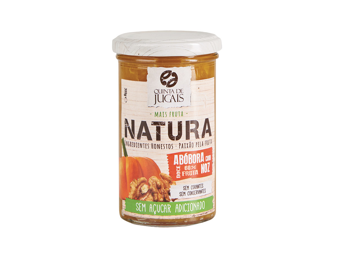 Pumpkin Walnut  / Doce 300 gr (Quinta Jugais) - Natura - No Sugar Added