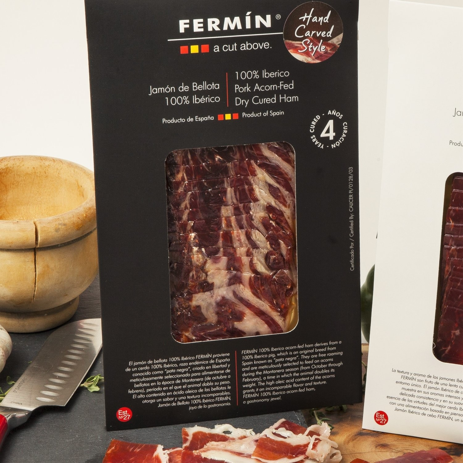 Sliced Iberico Jamon De Bellota (2 oz) (IMPORTED)