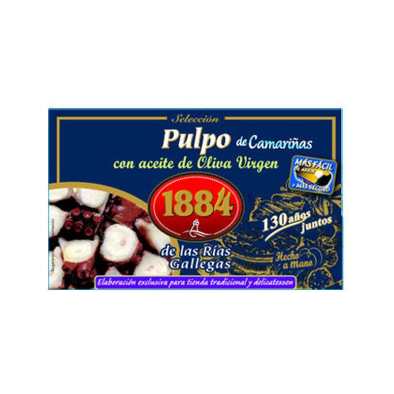 1884 Octopus Slices with Garlic (120gr) (On Sale)