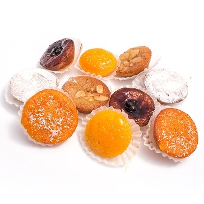 Pastry Tarts / Queijadas (2 Dozen - 24 pcs) (Ships Separately - Ships by 3 Day Air Fedex)