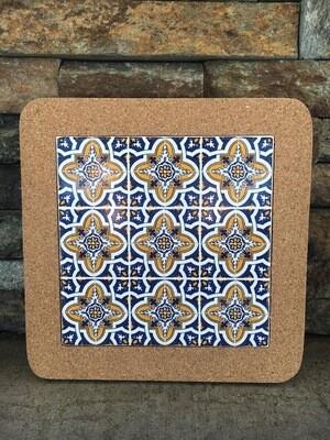 Azulejo Trivet (BLUEYELLOWMANY)