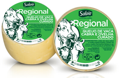 Sheep / Goat & Cows Milk (Cured) (Blended) Cheese (Saloio) (Portugal) 6.4 oz