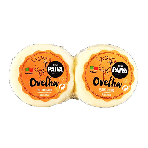Cured Sheeps Milk (Blended) Cheese (Paiva) (Portugal) 8 oz