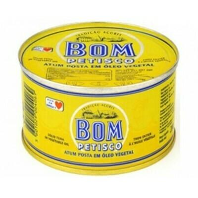 Bom Petisco Tuna in Vegetable Oil (200gr)