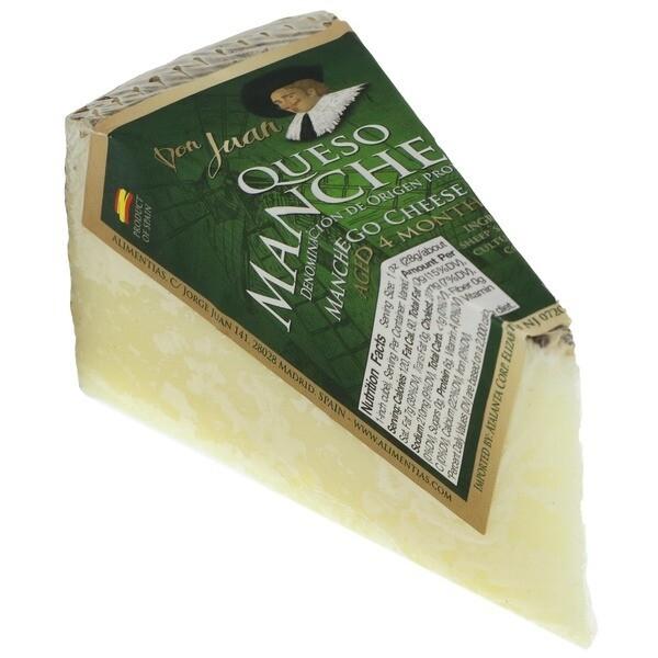 Manchego / Sheep's Milk Cheese (Don Juan) (Spain) 7 oz/ 0.44 lb