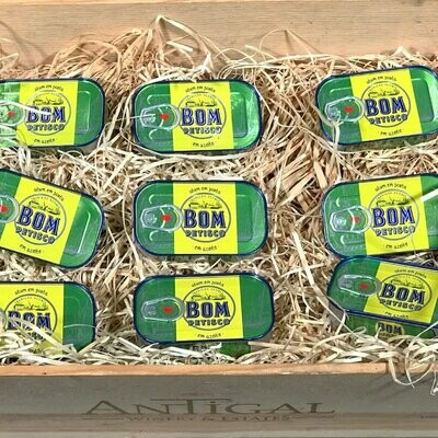 Bom Petisco Solid Tuna in Olive Oil [BULK] 39 Cans (Free Shipping this Item)