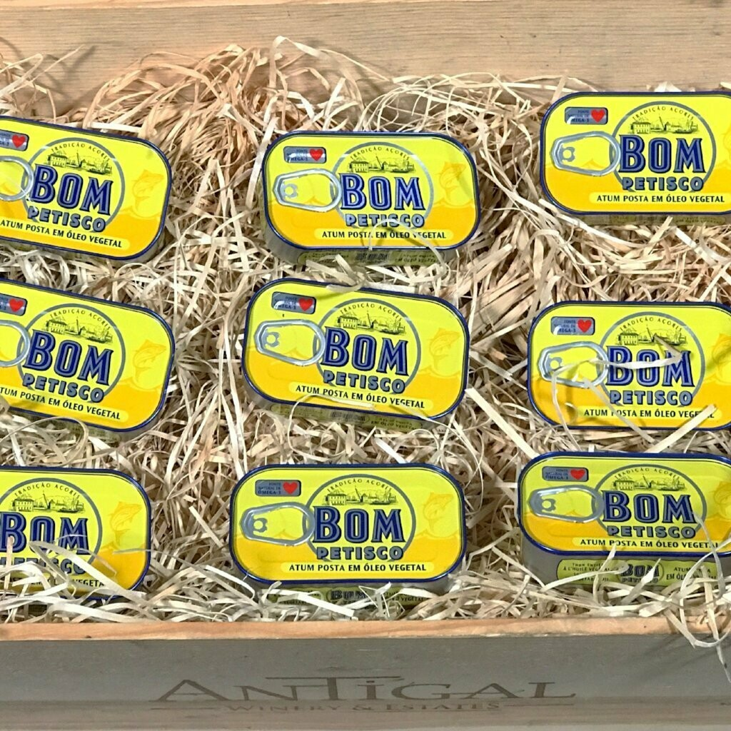 Bom Petisco Solid Tuna in Vegetable Oil [BULK] 39 Cans (Free Shipping this Item)